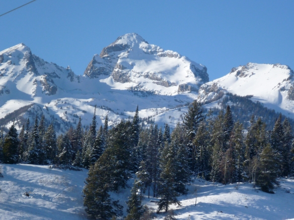 Buck Mountain's East Face and the dominant East Ridge, viewed from starting elevation (2 days prior)