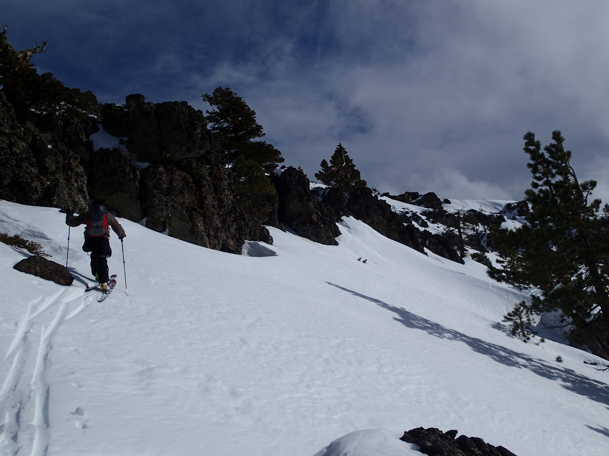 Finding a way to the top of the ridge line